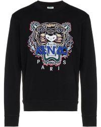 KENZO - Tiger Sweatshirt Black - Lyst