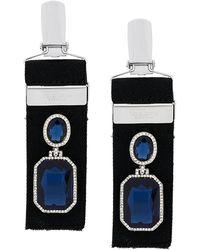 Vetements - Embellished Suspender Earrings - Lyst