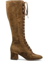 Gianvito Rossi - Mackay Suede Boots - Lyst