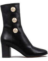 Chloé - Orlando Leather Boots - Lyst