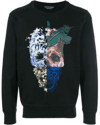 Alexander McQueen - Patchwork Skull Sweatshirt - Lyst