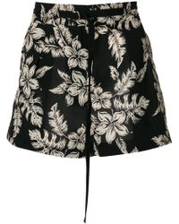 Moncler - High Waisted Shorts - Lyst