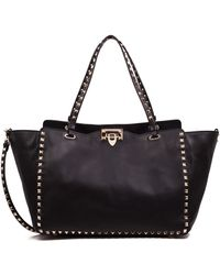 Valentino - Garavani Rockstud Shopper Bag - Lyst