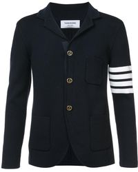 Thom Browne - Ribbed-knit Blazer - Lyst