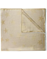 Stella McCartney - Metallic Star Scarf - Lyst