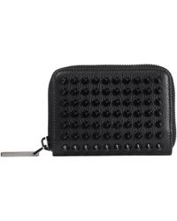 Christian Louboutin - Panettone Embellished Leather Coin Purse - Lyst