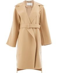 Chloé - Belted Tailored Coat - Lyst