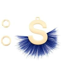Fendi   Abclick Fur-trimmed Charm   Lyst