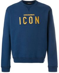 DSquared² - Icon Sweatshirt - Lyst