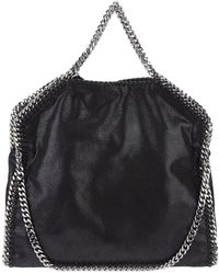 Stella McCartney - Silver-tone Chain Tote Bag - Lyst