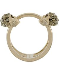 Alexander McQueen - Skull Ring - Lyst