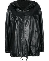 Prada - All Designer Products - Hooded Jacket - Lyst