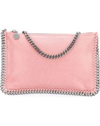 Stella McCartney - Clutch Shaggy Deer Falabella - Lyst