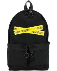 Off-White c/o Virgil Abloh - Fire Tape Backpack - Lyst