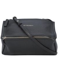Givenchy - Mini Pandora Bag In Grained Leather - Lyst