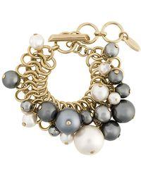 Lanvin | Faux Pearl Bracelet | Lyst