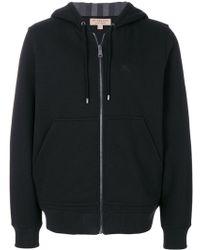 Burberry - Hooded Sweatshirt - Lyst