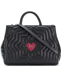 Dolce & Gabbana - Quilted Millennial Tote - Lyst