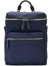Burberry - Showerproof Backpack - Lyst
