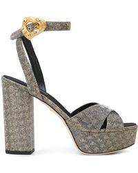 Dolce & Gabbana - Keira Sandals - Lyst