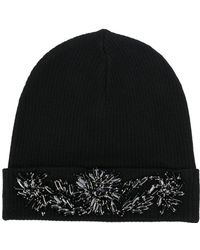 P.A.R.O.S.H. - Embellished Beanie Hat - Lyst