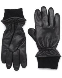 G.H. Bass & Co. - Tate Leather Glove - Lyst