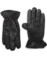G.H.BASS - G.h. Bass Distressed Leather I-touch Glove - Lyst