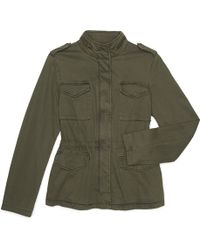 G.H. Bass & Co. - Four Pocket Military Jacket - Lyst