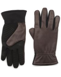 G.H. Bass & Co. - Leather Glove With Elastic - Lyst