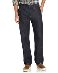 G.H. Bass & Co. | Relaxed Straight Leg Denim | Lyst