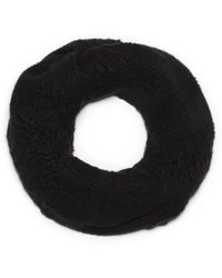 G.H. Bass & Co. - Open Knit Infinity Scarf - Lyst