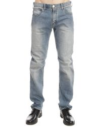 Armani Jeans - Jeans Denim Used Regular Stretch 10,5 Once - Lyst