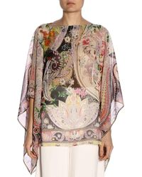 Etro - Top Mujer - Lyst