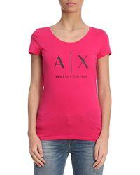 Armani Exchange - T-shirt Women - Lyst