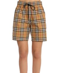 Burberry - Pants Women - Lyst