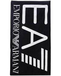 EA7 - Beach Towel Men - Lyst