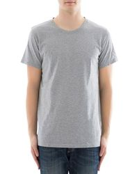 67370f53 Lyst - Balmain Logo Hooded Long Sleeve T-shirt in White for Men