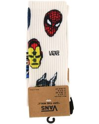 Vans - Marvel Limited Edition Socks With All-over Superhero Print - Lyst