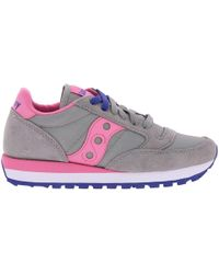 Saucony - Women's Jazz Original Sneakers In Suede And Nylon With Eva Innersole - Lyst