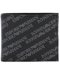 Emporio Armani - Wallet Men - Lyst