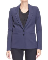 Patrizia Pepe - Blazer Suit Jacket Woman - Lyst