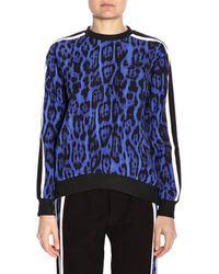 Just Cavalli - Leopard Print Sweatshirt - Lyst