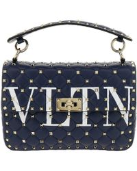 Valentino - Medium Leather Bag - Lyst
