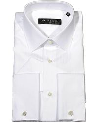 Brian Dales - Shirt Tailored Slim Pinstriped Double Cuffs - Lyst