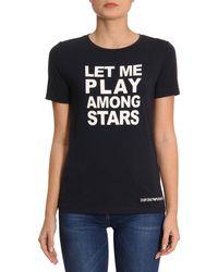 Emporio Armani - T-shirt Women - Lyst