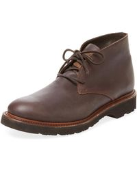 Vintage Shoe Company - Adrian Leather Chukka Boot - Lyst
