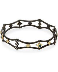 Armenta - New World Diamond Cutout Bangle Bracelet - Lyst