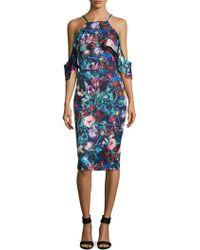 Alexia Admor | Floral Printed Sheath Dress | Lyst