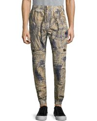 PRPS - Bowerbird Cotton Jogger Trousers - Lyst