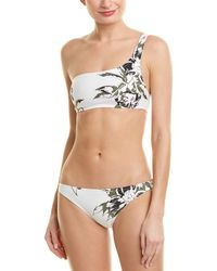 Proenza Schouler - 2pc One-shoulder Bikini Set - Lyst